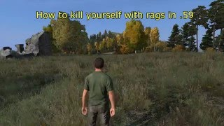 DayZ Standalone | How to F11 with Rags