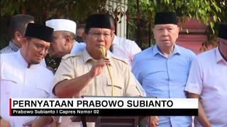 Prabowo Subianto Klaim Menang Versi Exit Poll Sebesar 55,4 Persen