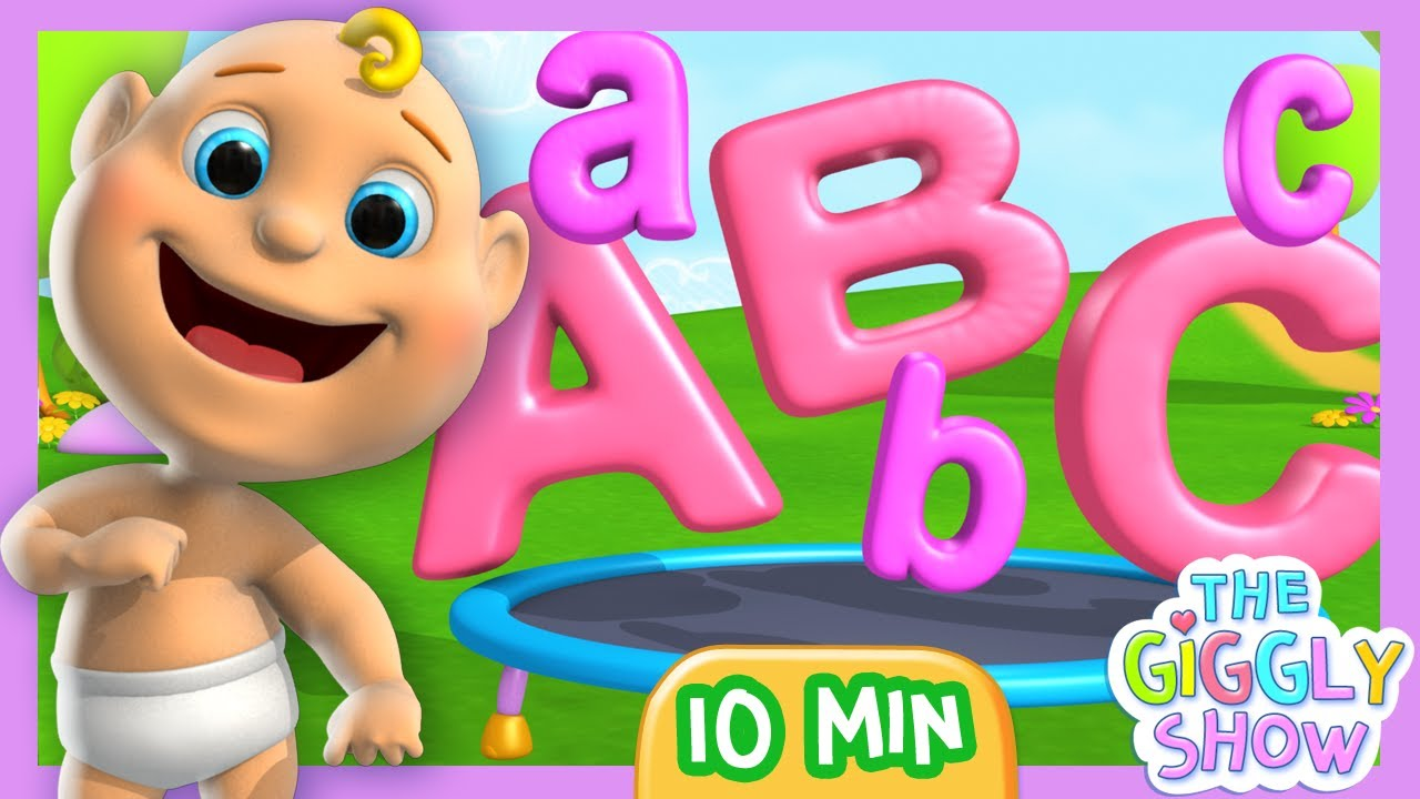 ABC Song for Children - Learn small and capital letters - YouTube