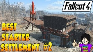 Fallout 4 - Best Starter Base #2