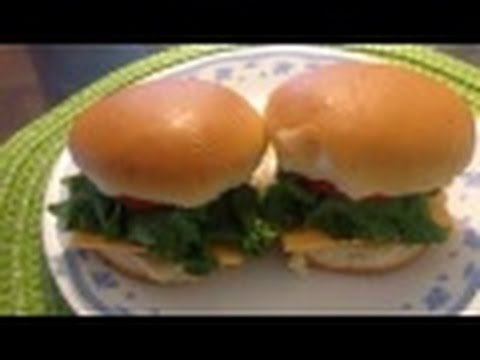 McDonald's Style Beef Patty Burger* How to Make Beef Patty Burger at Home