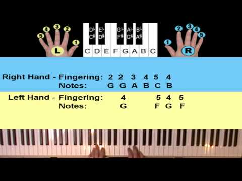 Annies Song Beginners Piano & Keyboard Lesson