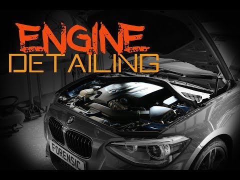 How to safely clean an engine bay - Engine bay detailing