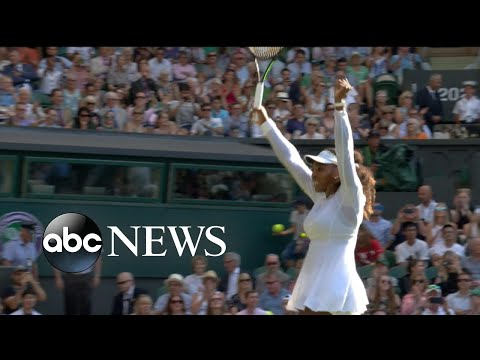 Serena Williams dominates Round 4 at Wimbledon