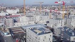 Le chantier du Coeur de ville, vu par un drône - décembre 2019