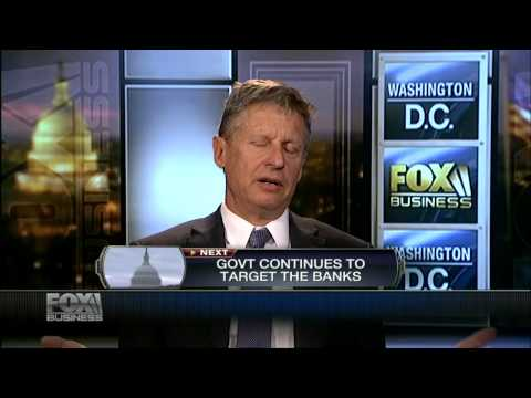 Gary Johnson: NSA Spying Reminiscent of Pre-WW2 Germany