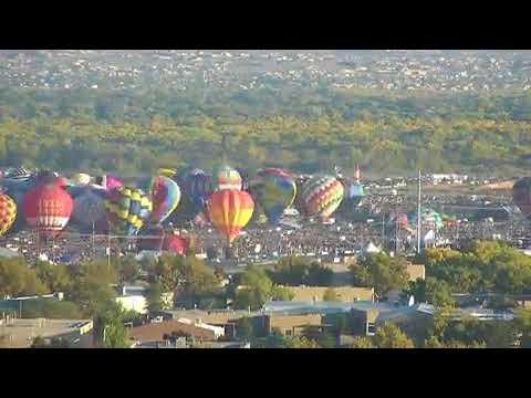 TIME-LAPSE: Day 8 of Albuquerque Balloon Fiesta