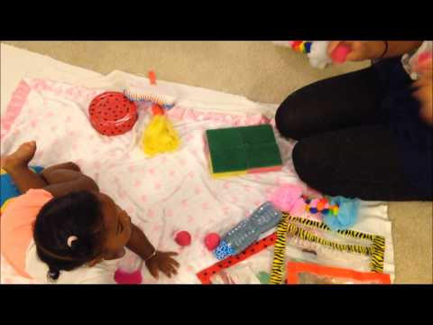 Sensory Play in babies