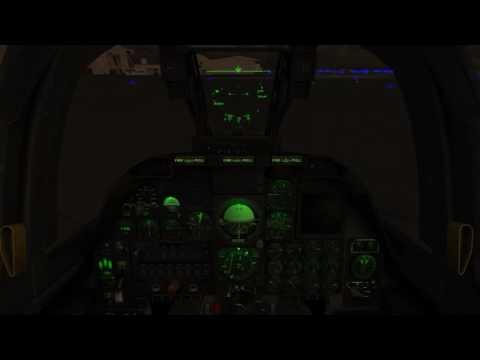 FSX Training flight aboard A-10A Warthog