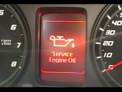 How to Reset a  Service Engine Oil  Message on a Pontiac G8
