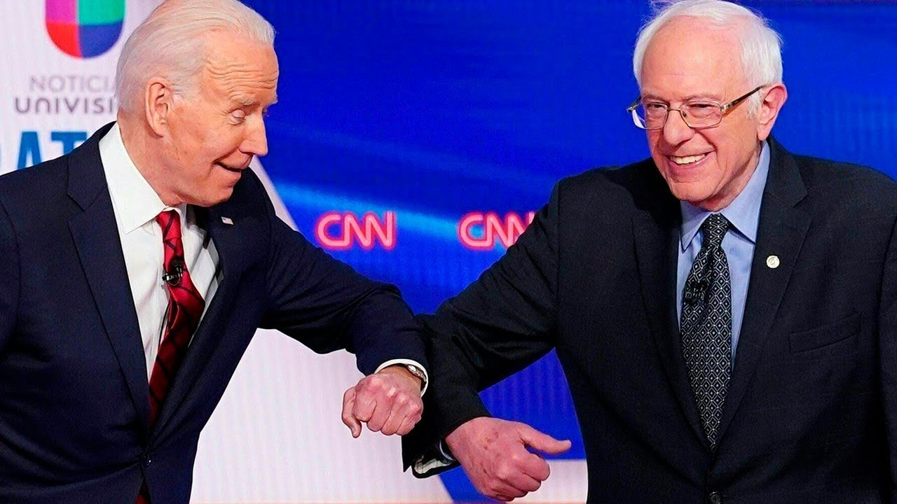 Bernie Sanders apoya candidatura de Biden