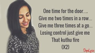 Vidya Vox - Kuthu Fire | Original Single (Lyrics)