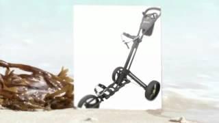 zoom quickfold 3 wheel golf trolley