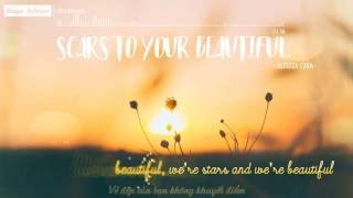 [Lyrics + Vietsub] Alessia Cara - Scars To Your Beautiful Video