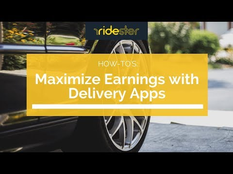 How to Maximize Rideshare Earnings with Delivery Apps