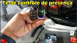 Como testar controle de presença de alarme Duoblock para moto e Px para carro