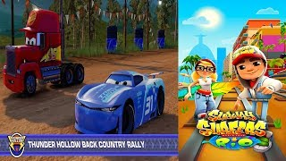 Disney Pixar Cars 3 Simulator Driven To Win VS Subway Surfers World Rio Brazil Gameplay #37