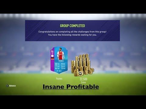 Fifa 18 eredivisie sbc completed, younes sbc we make insane profit, bpl walkout & martial