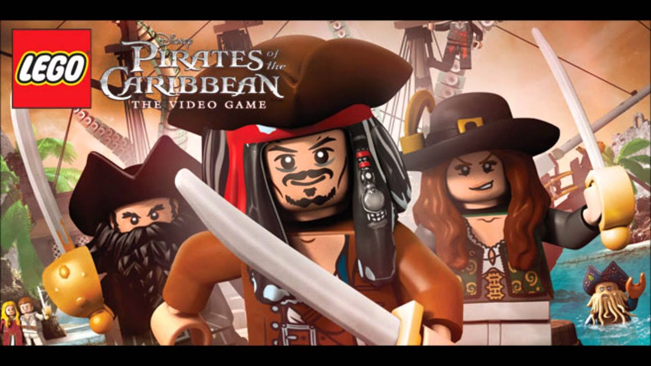 LEGO Pirates Of The Caribbean Music Pirate Disco Party