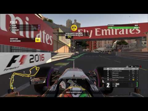 F1 2016 Monaco Race 2/2