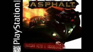 Playstation Game Red Asphalt Music - 8. Trashed