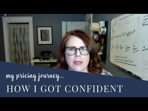 My Pricing Journey: How I found confidence in my pricing