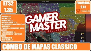 Download LIBERADO MAPA PROMODS 2 41 ETS2 1 35
