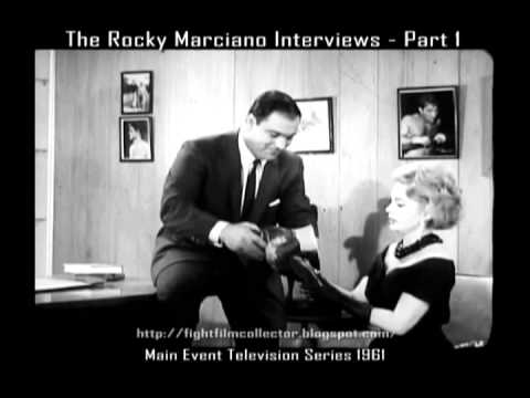 The Rocky Marciano Interviews - Part One (16mm Transfer)