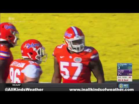 2016: #23 Florida Gators vs. #16 LSU Tigers