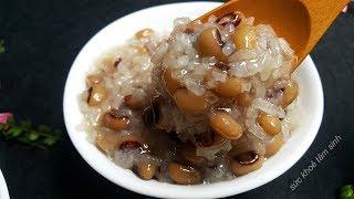 Cách nấu chè đậu trắng mềm tan mà không bị nát