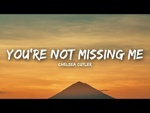 Chelsea Cutler – You're Not Missing Me