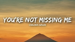 Chelsea Cutler – You're Not Missing Me (Lyrics / Lyrics Video)