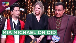 Mia Michael Visits The Sets Of Dance India Dance | Zee Tv