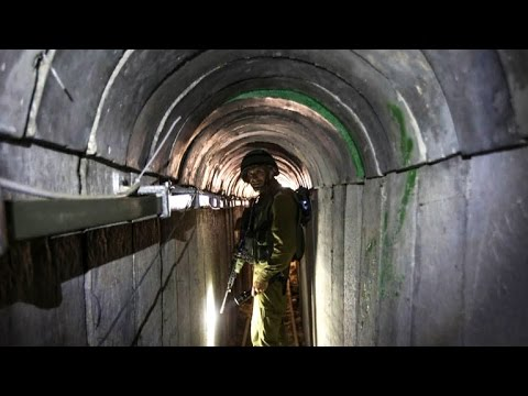 Inside The Tunnels: Israel Vows To Destroy Hamas' Underground Network