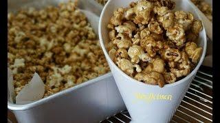 Resep Caramel  Popcorn,Membuat Popcorn