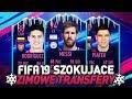 FIFA 19  *SZOKUJĄCE* ZIMOWE TRANSFERY!