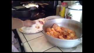 """Receta """"Pollo Frito"""""""