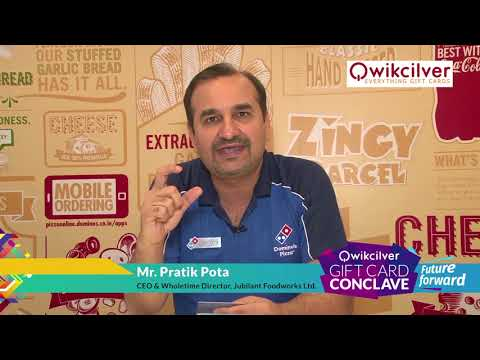 Mr. Pratik Pota, CEO & Wholetime Director, Jubilant Foodworks Ltd on QCGC18