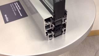 видео теплые алюминиевые окна