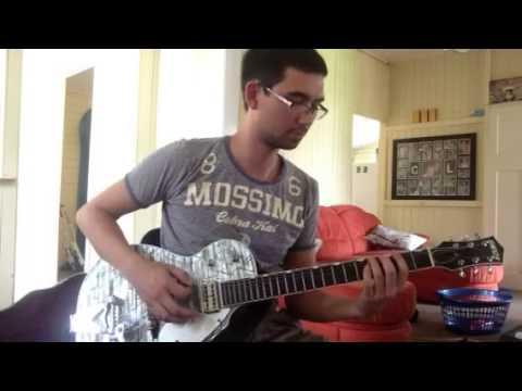 Chris Lang thrift shop guitar jam