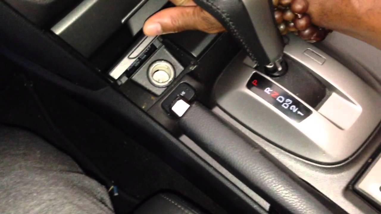 Adjusting Parking Brake In 2010 Honda Accord Crosstour