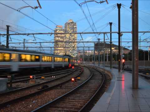 Timelapse of Barcelona Estació de França train station