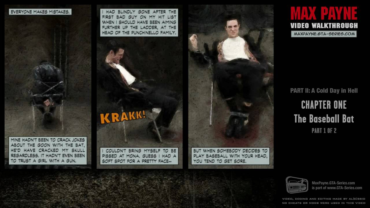 Max Payne A Cold Day in Hell The Baseball Bat 1 2