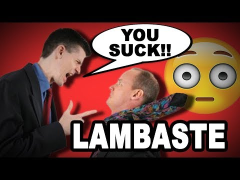 Learn English Words: LAMBASTE - Meaning, Vocabulary with Pictures and Examples