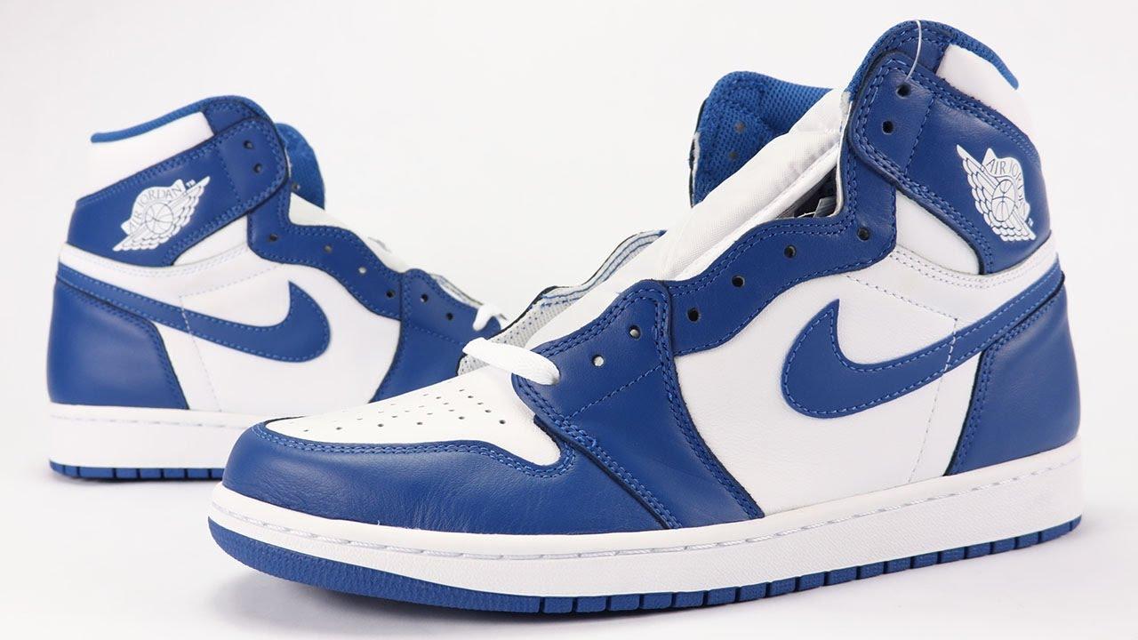 huge discount 84be9 d1aa6 Air Jordan 1 Storm Blue Review + On Feet - YouTube
