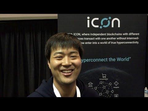 Icon Foundation Interview - @helloiconworld - Blockchain Expo North America Santa Clara 2017
