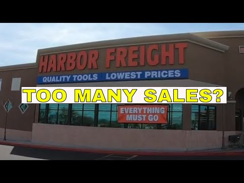 Harbor Freight- WAY too many SALES? 2018 Easter Sale