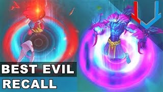 Best Evil Recall Animations in League of Legends