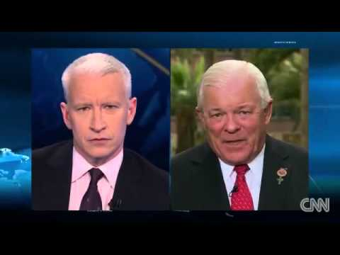 Anderson Cooper Tears into AZ Pol over 'Anti Gay' Law  'You're Seriously Blaming the Media !'