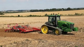 John Deere 8345 RT with Horsch Terrano MT and Vaderstad Rexius Twin - from A Year Farming with Deere